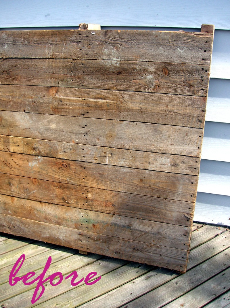 how to make a pallet table « movita beaucoup