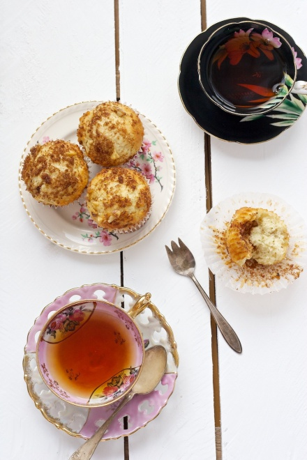 coffee cake muffins | movita beaucoup